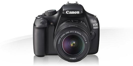 Cámaras réflex - Canon EOS 1100D